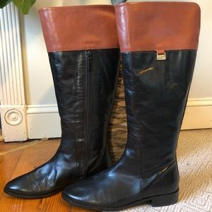 Cole Haan Leather Knee High Boot Like NEW Size 8